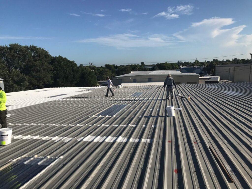 Commercial Metal Roofing-Mid-Florida Metal Roof Contractors of Jacksonville